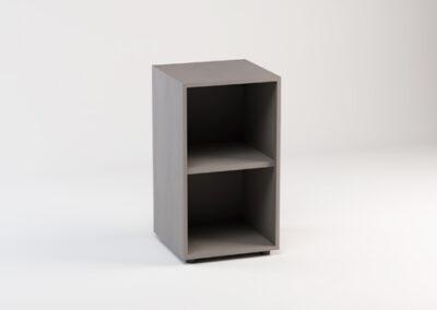 Libreria bassa a giorno 45 x 44,5 x 81,5 h cm